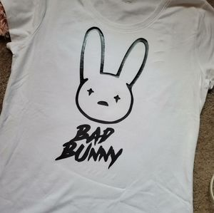Bad bunny graphic tee